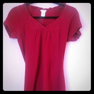 Maurices v-neck red top
